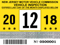 Nj Vehicle Inspection >> New Jersey Windshield Stickers