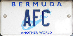 Bermuda License Plates New Jersey Dies Made in NJ