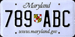 Maryland License Plates New Jersey Dies Made in NJ