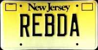 New Jersey License Plate Prototype