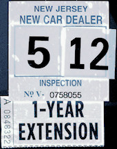 Nj Vehicle Inspection >> How To Read Inspection Sticker Nj